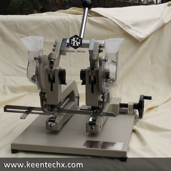 Twin head Paper Bag Eyelet Machine